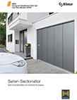 Seiten-Sectionaltor von Hörmann| Metallbau Hülmbauer GmbH